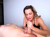 Milf Talks Dirty Offering Skillful Hands On Cock